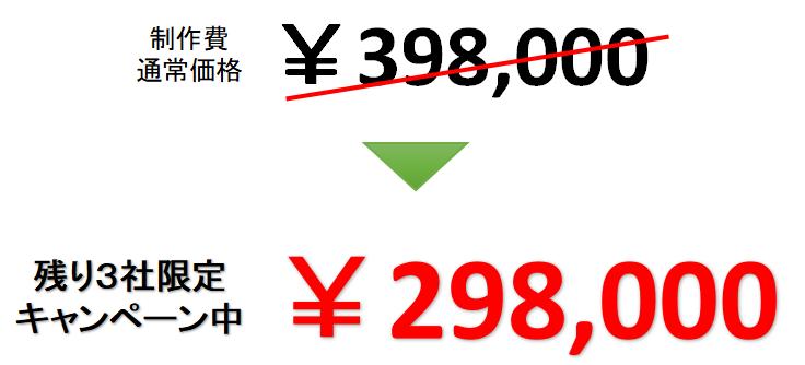 WEB制作価格